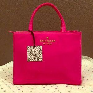 Hot pink Kate Spade 25th Birthday Edition Sam Bag